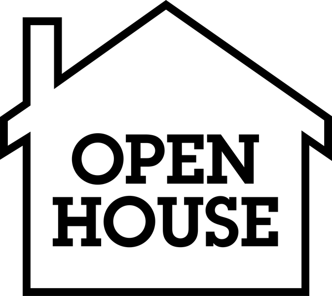 Open House Dates & Times